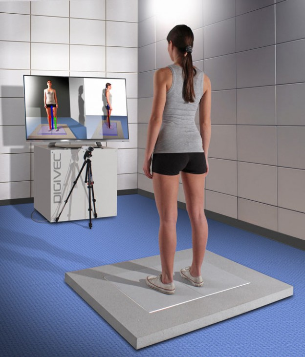 The very first digital modular floor for the jumping, walking and running strength analysis