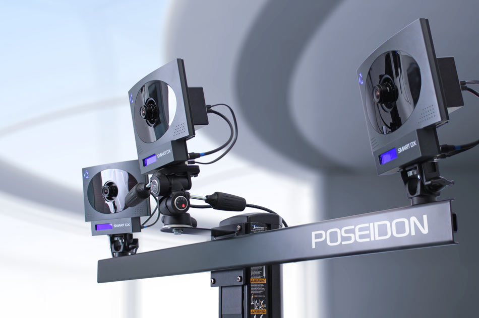 BTS POSEIDON allows a quick, objective and repeatable functional analysis of patients with postural and spinal conditions and of specific body regions